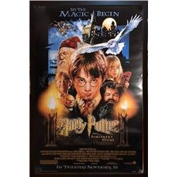Harry Potter & the Sorcerer's Stone Signed Movie Poster