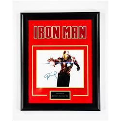 Marvel's Iron Man Signed Photo