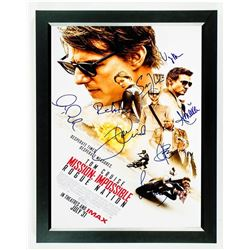 MISSION IMPOSSIBLE ROGUE NATION Signed Movie Poster
