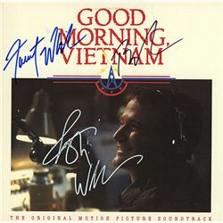 Good Morning Vietnam Cast Signed Movie Soundtrack Album