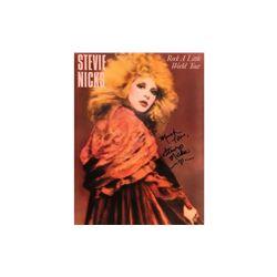 Stevie Nicks Autographed Tour Book