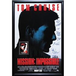 Mission: Impossible  Signed Movie Poster