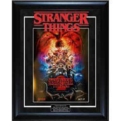 Stranger Things 2 Signed Poster
