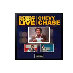 Chevy Chase Signed SNL Collage