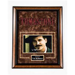 Val Kilmer Signed Tombstones Photo