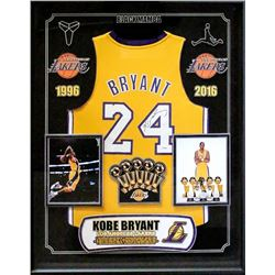 Kobe Bryant Signed Lakers Jersey