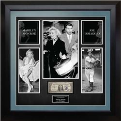 United Stated Silver Certificate Signed by Marilyn Monroe and Joe DeMaggio