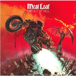 """Meat Loaf """"Bat Out Of Hell"""" Signed Album"""