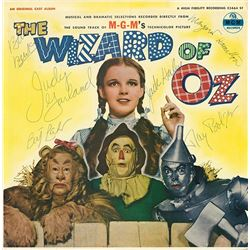 """Judy Garland """"The Wizard of Oz"""" Signed Soundtrack"""