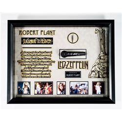 Robert Plant Autographed Microphone