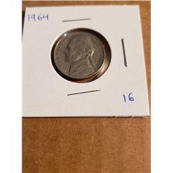 1964 Jefferson Nickel