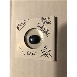 Extremely Rare HUGE 9.80 carat Blue STAR SAPPHIRE Beautiful Gemstone