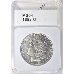1882-O MORGAN DOLLAR  CH BU