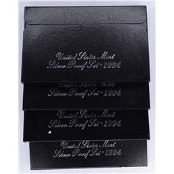 4-1994 U.S. SILVER PROOF SETS IN ORIG PACKAGING