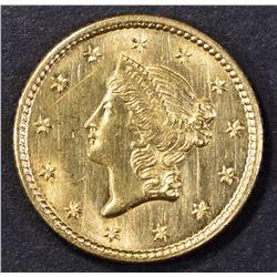1851 GOLD DOLLAR CH/GEM BU