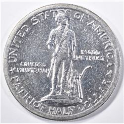1925 LEXINGTON COMMEM HALF DOLLAR, CH BU