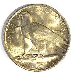 1935 CONNECTICUT COMMEM HALF DOLLAR, GEM BU