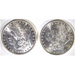 +-2-1887 CH BU MORGAN DOLLARS