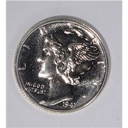 1941 GEM PROOF MERCURY DIME, SUPER NICE!!