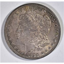 1885 MORGAN DOLLAR  CH BU  COLOR