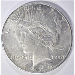 1965 FANTASY DATE PEACE DOLLAR
