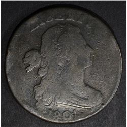 1801 1/100 LARGE CENT, VG