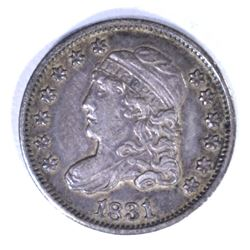 1831 CAPPED BUST HALF DIME, XF+