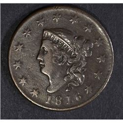 1816 LARGE CENT VF