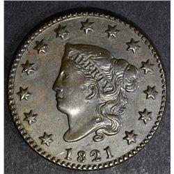 1821 LARGE CENT, AU