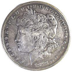 1878 8TF MORGAN DOLLAR, XF