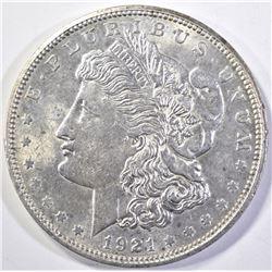 1921-D MORGAN DOLLAR, CH BU