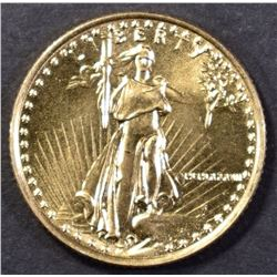 1987 1/10th OUNCE GOLD AMERICAN EAGLE