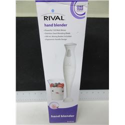 New Rival Hand Blender / 150watt motor - stainless blade - 500ml beaker inc.