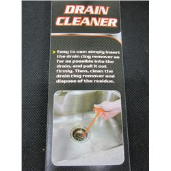 New Drain Cleaner / Excellent for getting Hair Out of your Drains / 23""