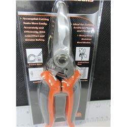 New Industrial Scissors / Heavy Duty Stainless Steel Blades / cut wire/leather
