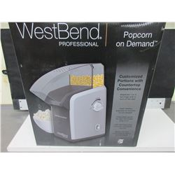 New WestBend Professional Popcorn on Demand Popcorn Maker / 16OZ