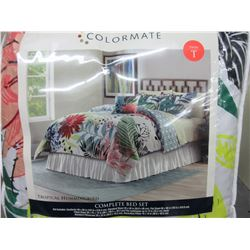 New Twin Complete Bed Set 6 piece
