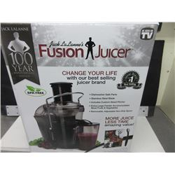 Jack La Lanne's Fusion Juicer / dishwasher safe parts stainless blades
