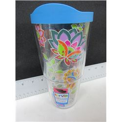 New Tervis Hot & Cold 24oz Drink Tumbler / 24.95 tags / Made in America