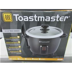 New Toastmaster 10 cup Rice Cooker / removeable bowl with lid / 1 touch operation
