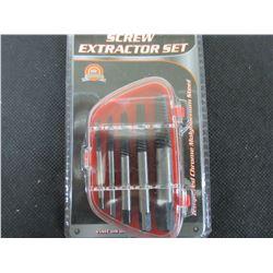 New 5 piece Screw Extractor set