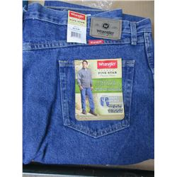 New Wrangler five star Premium Denim Regular fit 44 - 30