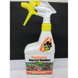 New Liquide Fence Dog & Cat Repellent / stops bad habits like Cats in flowerbeds