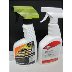 1 Armor All Protectant spray 473ml  and /  1 Wheel & Tire Cleaner 709ml