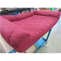 New Pet Bed 20 x 27 with zippered cover for easy cleaning