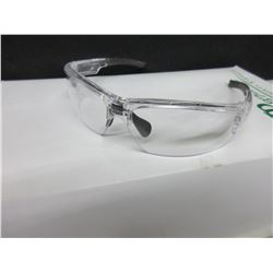 5 New Safety Glasses / clear XP-87 series