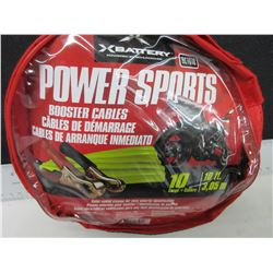 New Power Sports Booster Cables for ATV / SxS / Sleds and Bikes / compact