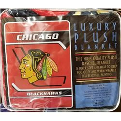 "NEW! ""CHICAGO"" LUXURY PLUSH BLANKET (QUEEN)"
