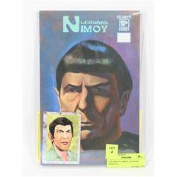 CELEBRITY COMICS LEONARD NEMOY #1