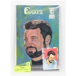 CELEBRTY COMICS JONATHAN FRAKES #1